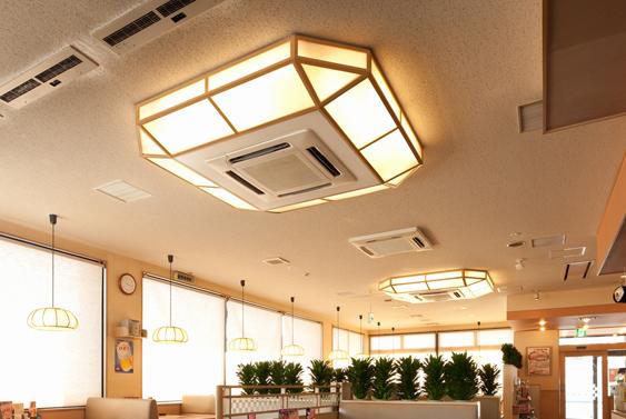 天井照明イメージ