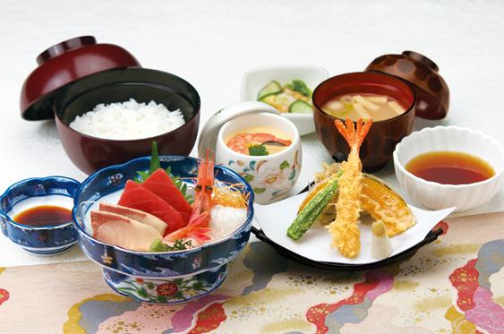 刺身・天ぷら膳 イメージ